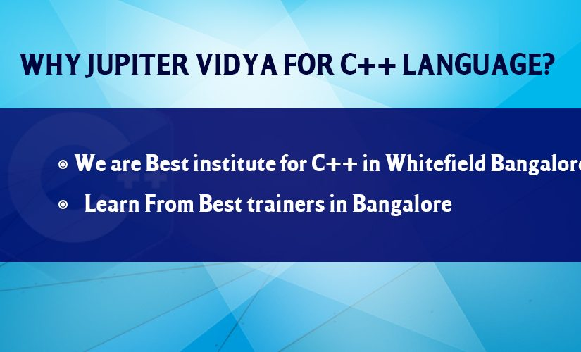 Learn C++ in Bangalore