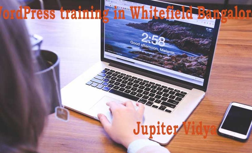 WordPress training in Whitefield