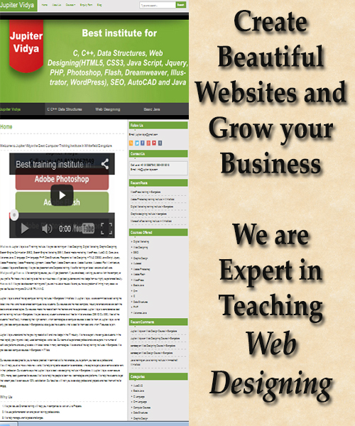 Web development services in Whitefield