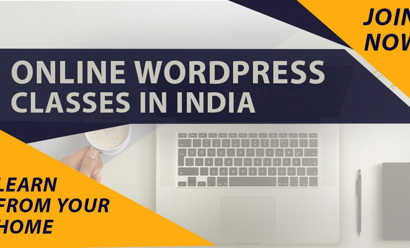 WordPress classes online in India